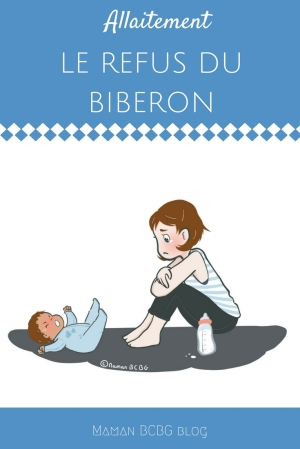 Faire accepter le biberon à mon bébé - Mission impossible - Maman BCBG blog
