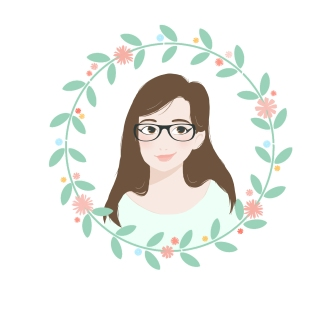 Mam2girls avatar fleurs lunettes