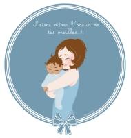 Maman BCBG blog aimer l'odeur de son enfant