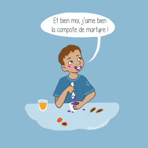 Maman BCBG Blog - Compote de myrtille martyre