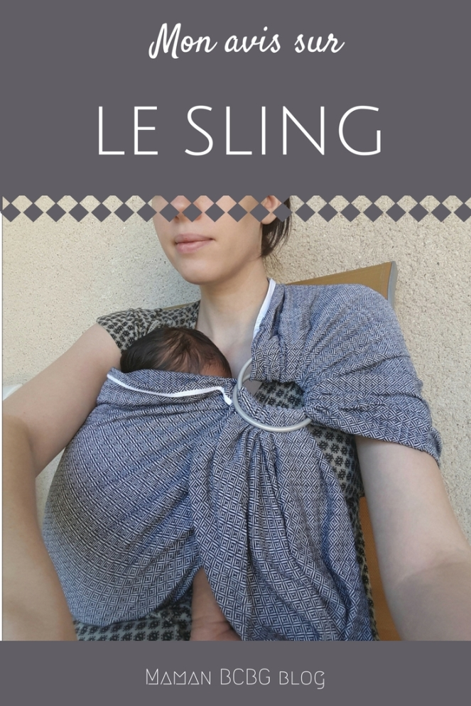 Mon avis sur le sling - Maman BCBG blog