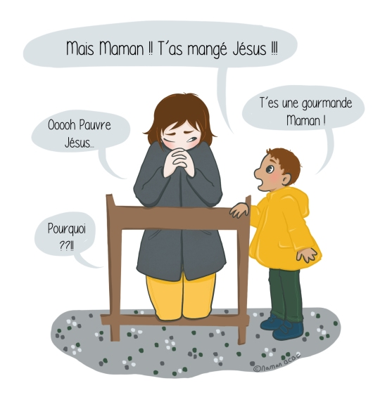Maman BCBG blog - Question enfant eucharistie