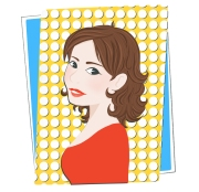 Sophie avatar pop fond rectangle
