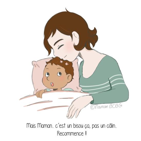 Maman BCBG blog - Câlin raté