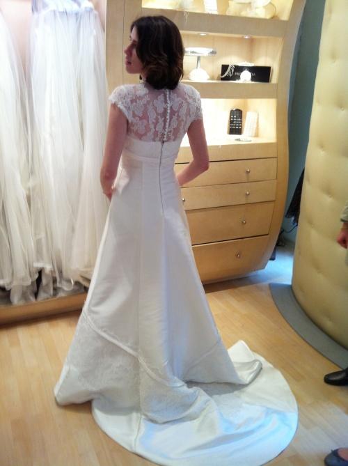 Maman BCBG blog - Robe mariée classe