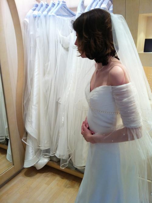 Maman BCBG blog - Robe mariée romantique