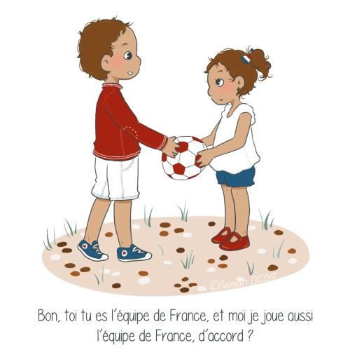 Maman BCBG blog - Equipe de France