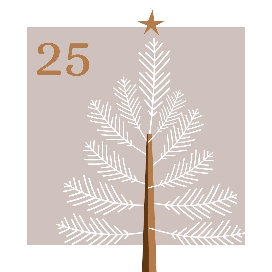 Calendrier Avent 25 décembre